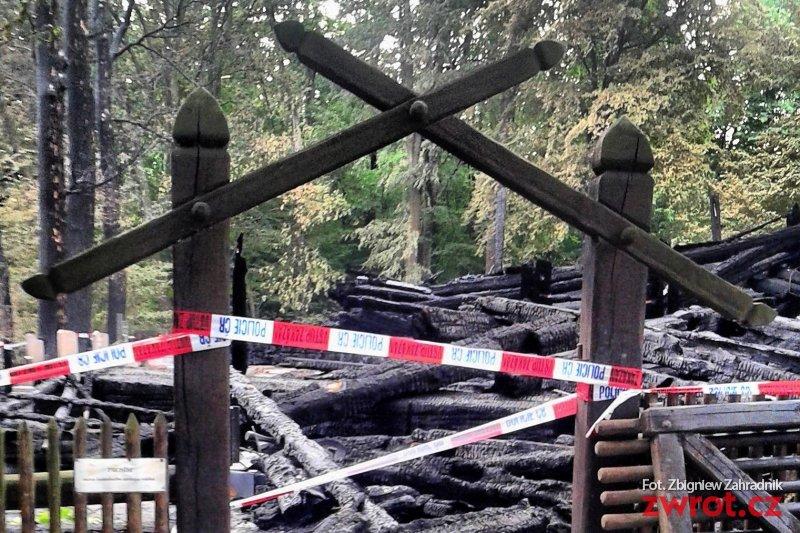 Dwie osoby zatrzymane w związku z pożarem kościoła w Gutach
