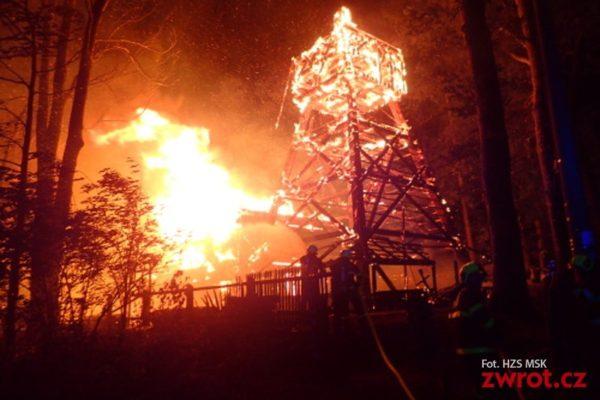 Spłonął zabytkowy kościółek w Gutach