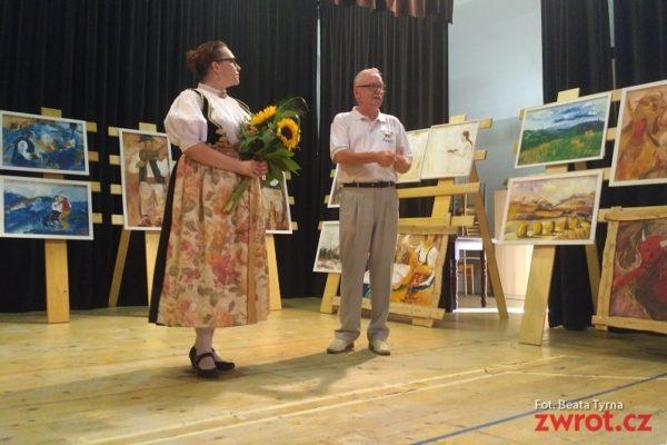 Wernisaż wystawy Agnieszki Pawlitko