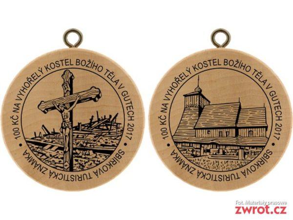 Kup znaczek, wesprzesz odbudowę kościoła w Gutach