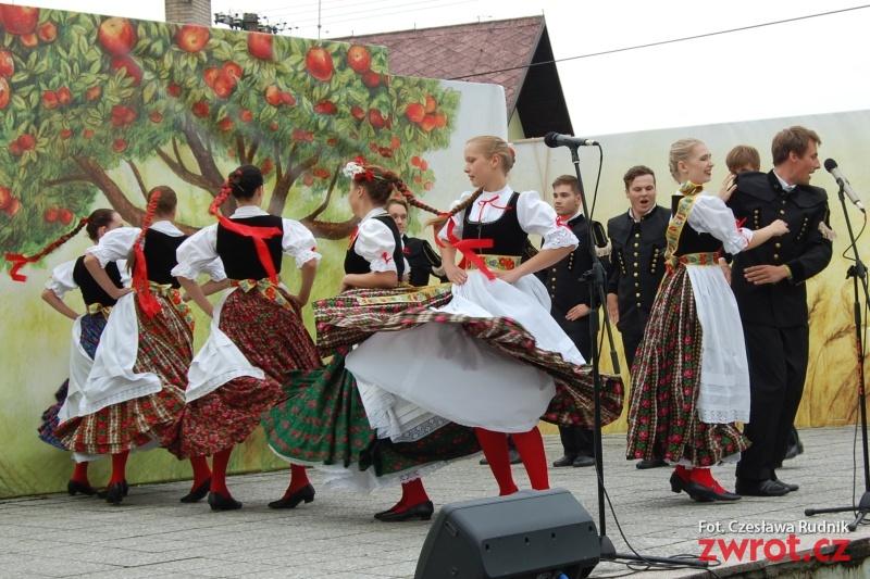 Na Dożynkach Śląskich gościli uczestnicy projektu transgranicznego