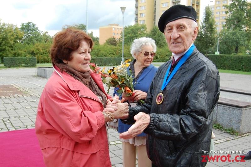 Świętowano dziewięćdziesiąte urodziny Witolda Rybickiego