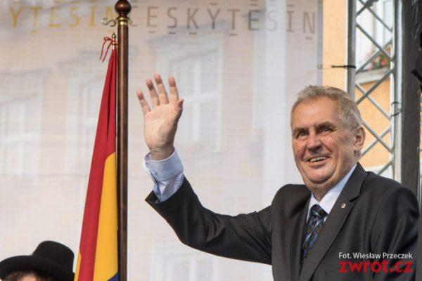 Prеzydent Zeman w Czeskim Cieszynie
