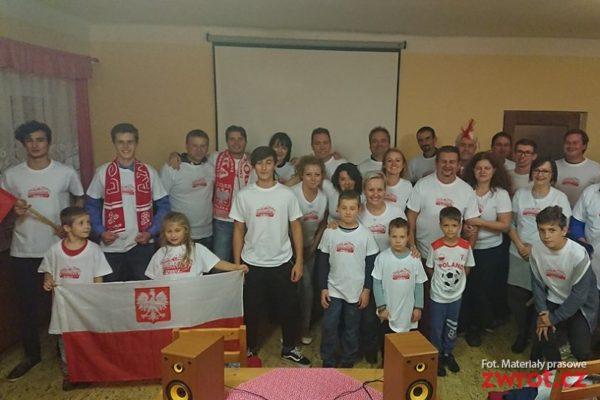W Boconowicach kibicowano Polsce