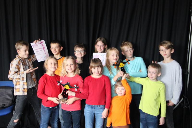 Teatrzyk z Nieborów przywiózł Srebrny Puchar Uśmiechu!