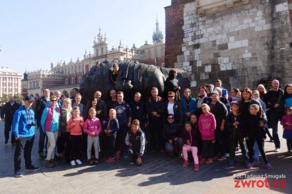 Rodziny z Cierlicka zwiedziły Kraków