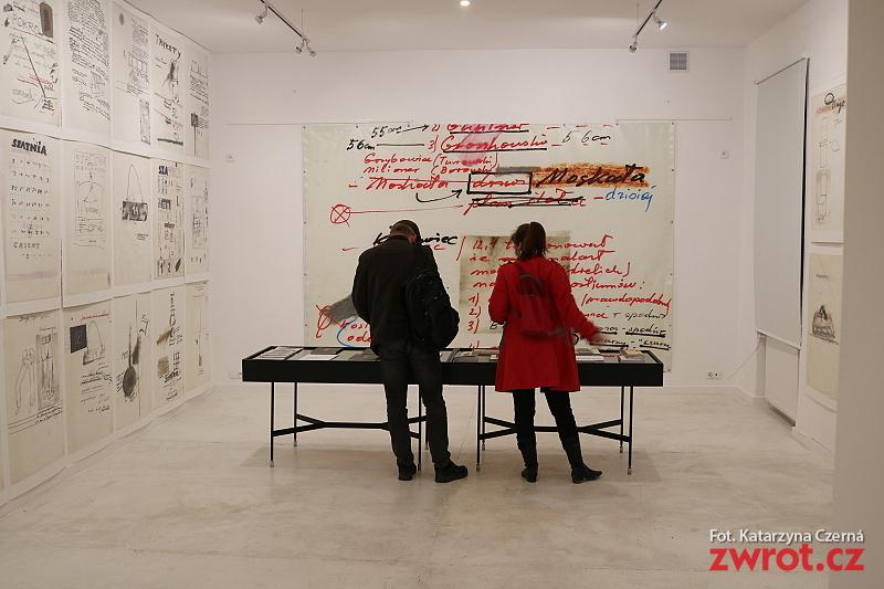 Brudnopisy czyli wystawa zapisków teatralnych