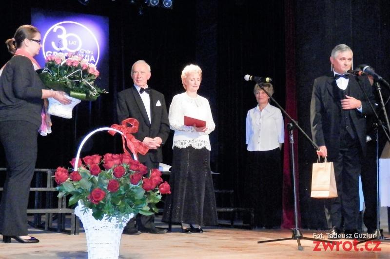 Skrzeczoniacy gościli na jubileuszu chóru Grodkovia
