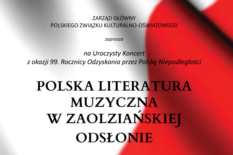 Koncert z okazji niepodległości