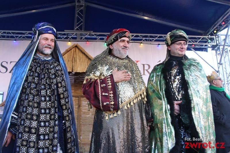 Orszak Trzech króli w Cieszynie