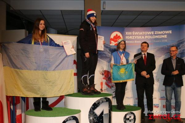 XIII Światowe Zimowe Igrzyska Polonijne, dzień 2 – pierwsze medale