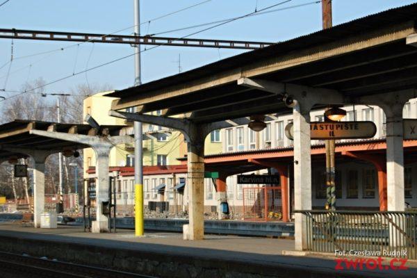 Karwińska stacja kolejowa w remoncie