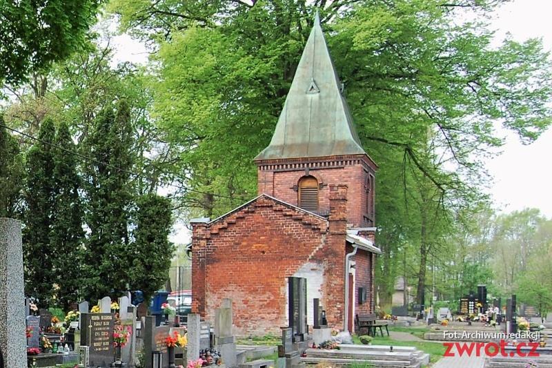 Kapliczka w remoncie