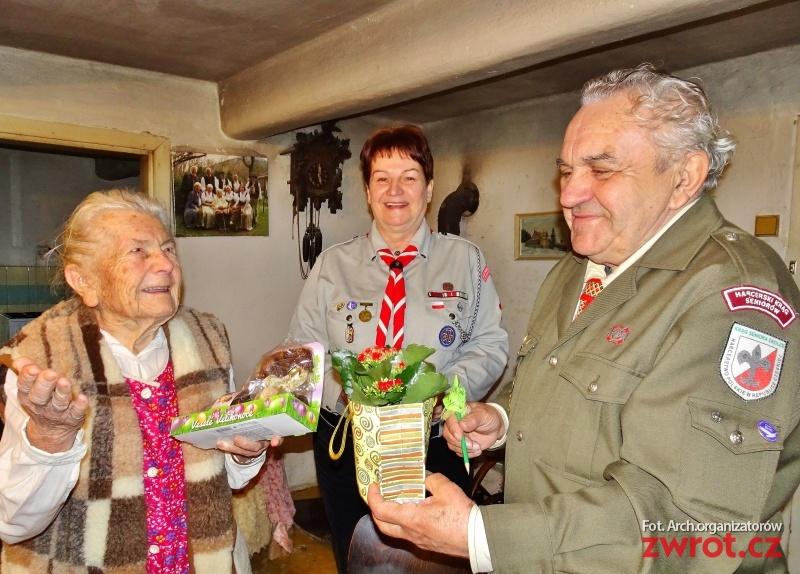 98 lat Anieli Kupiec
