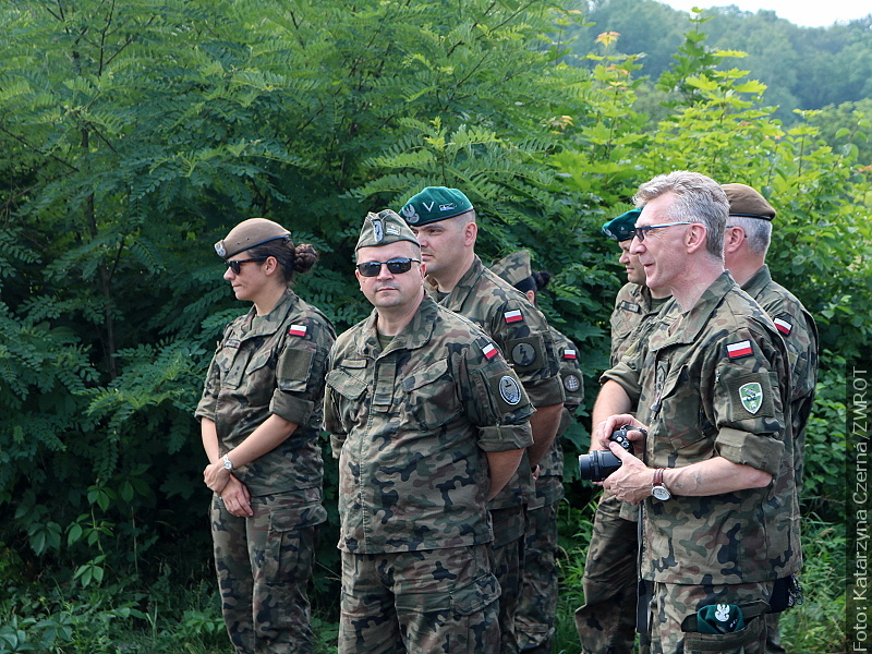 Polscy żołnierze na Zaolziu