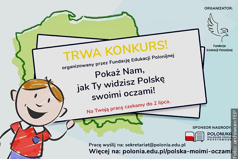 Konkurs pokaże Polskę oczami polonijnego dziecka
