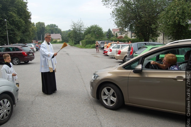 Ze świętym Krzysztofem za plecami