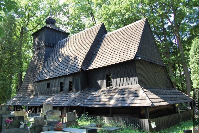 Kościół w Gutach na wystawie