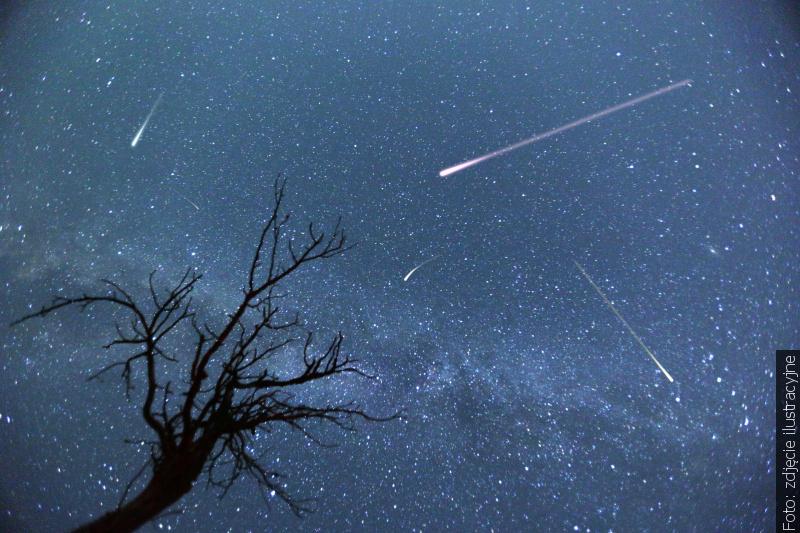 """""""Zwrot"""" astronomicznie: Dziś i jutro jeden meteor na minutę."""