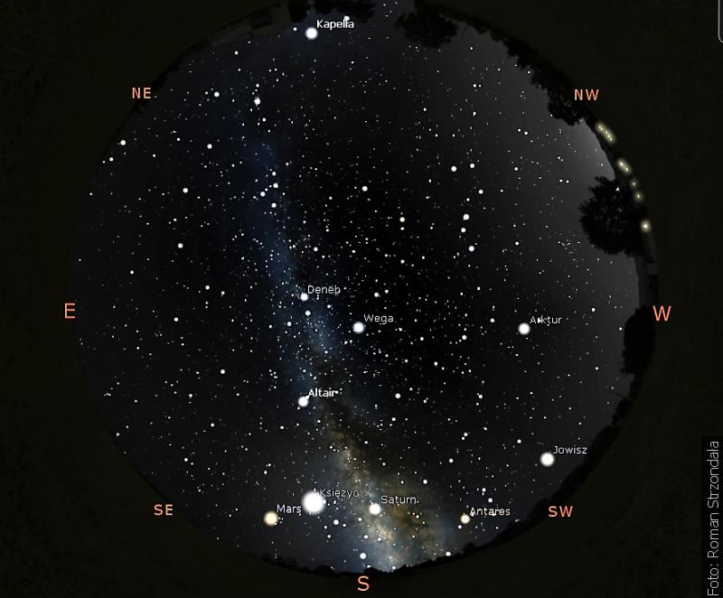"""""""Zwrot"""" astronomicznie: Trójkąt letni"""