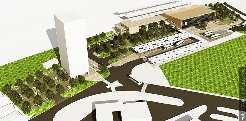 Będzie nowa przestrzeń przed dworcem w Hawierzowie