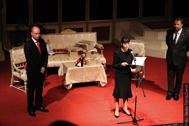 Teatr na koniec wizyty
