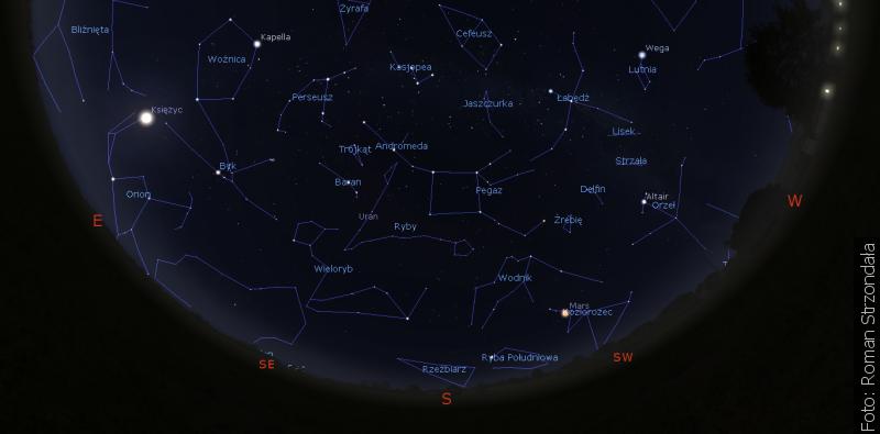 """""""Zwrot"""" astronomicznie: Niebo jesienne"""