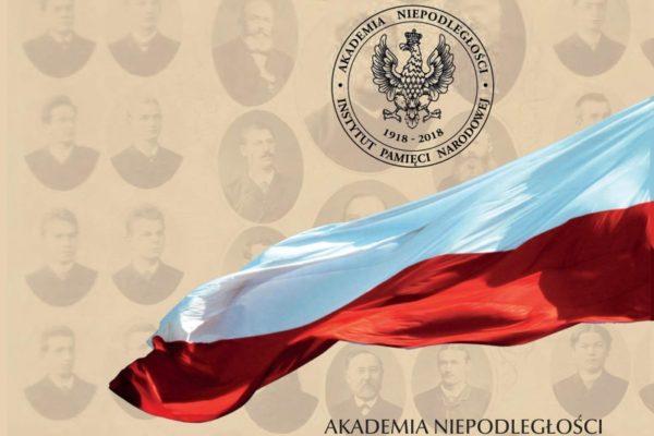 Akademia Niepodległości zaprasza na sesję wykładową