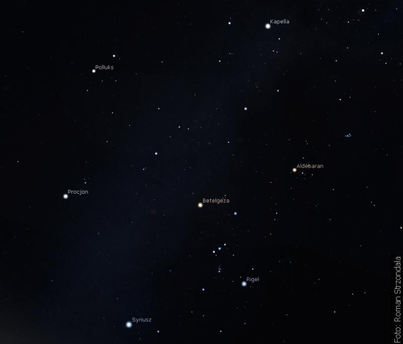 """""""Zwrot"""" astronomicznie: Niebo zimowe"""