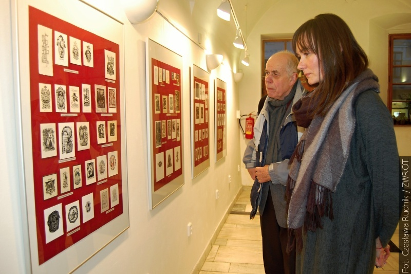 W Karwinie oglądać można polski ekslibris współczesny