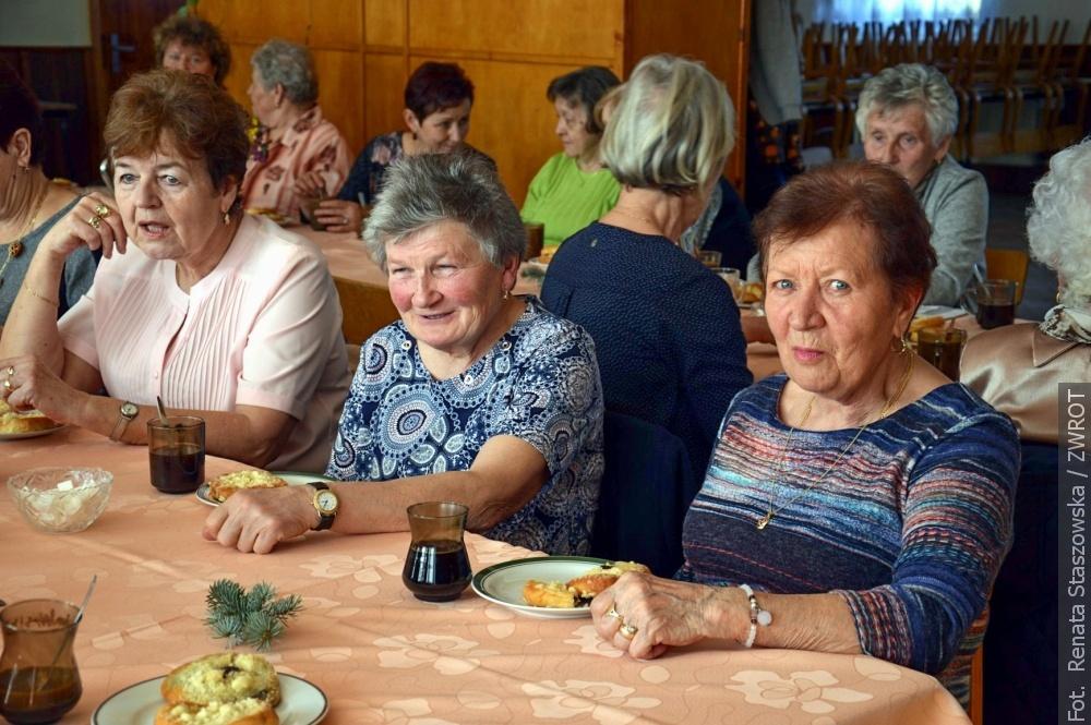 Klub Seniora, czyli Klub Starszego Chłopa w Milikowie zorganizował spotkanie dla pań
