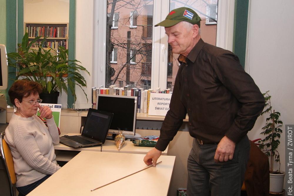 W czeskocieszyńskiej bibliotece zwiedzano Kubę