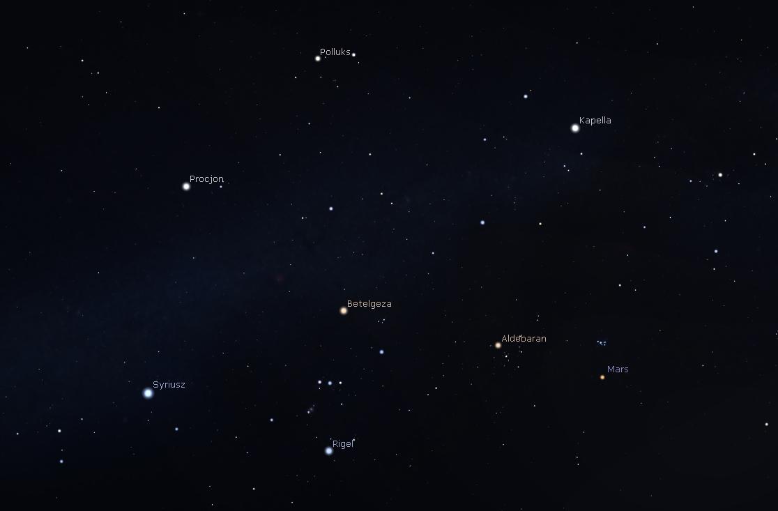 """""""Zwrot"""" astronomicznie: Zimowe gwiazdozbiory na wiosnę"""