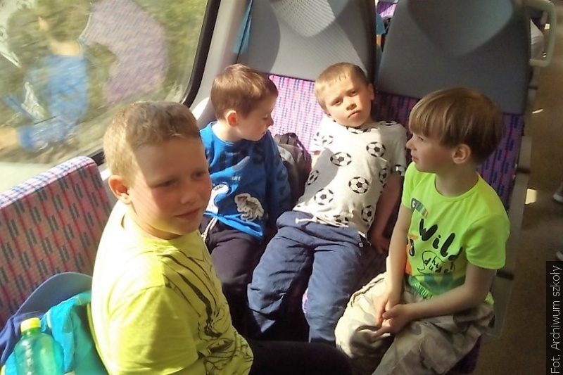 Dzieci z Łomnej Dolnej pojechały na wycieczkę do Karwiny