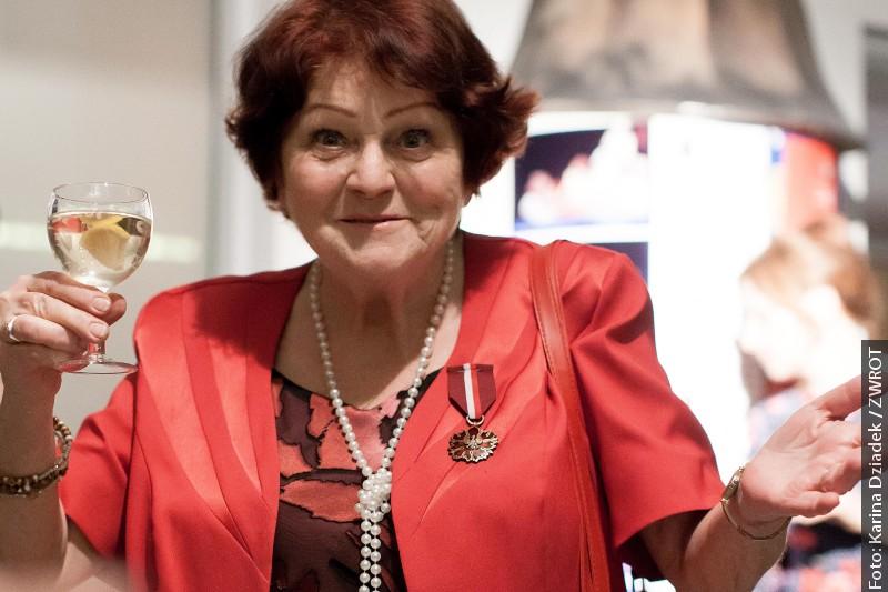 Halina Paseková odebrała Medal Gloria Artis