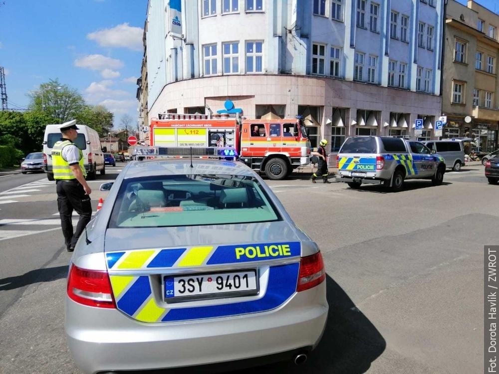 Bomba w Czeskim Cieszynie?! (aktualizacja)