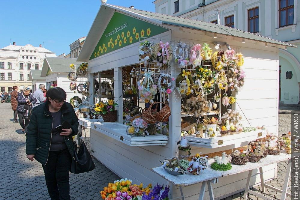 Na cieszyński Rynek już zawitała Wielkanoc