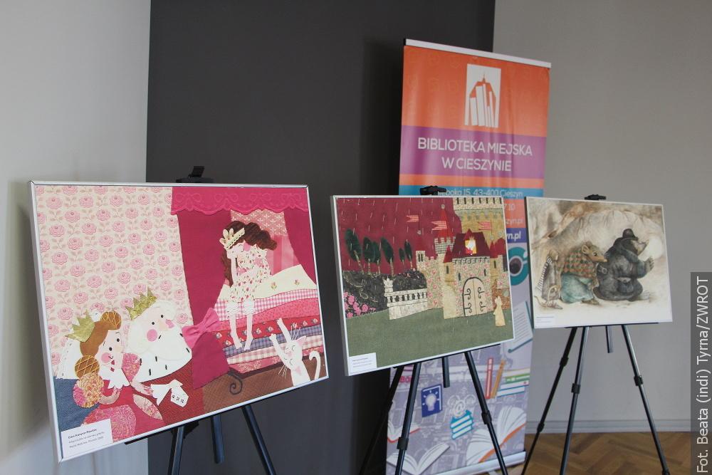 W cieszyńskiej Bibliotece obejrzeć można wystawę ilustracji do Baśni Andersena