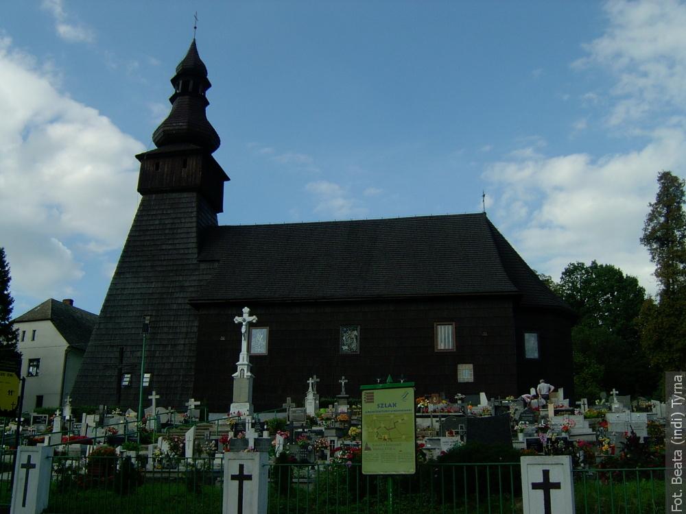 """Spacery ze """"Zwrotem"""": Kościół św. Michała Archanioła w Kończycach Wielkich"""