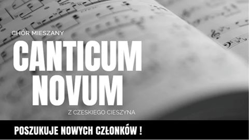 Można dołączyć do chóru Canticum Novum