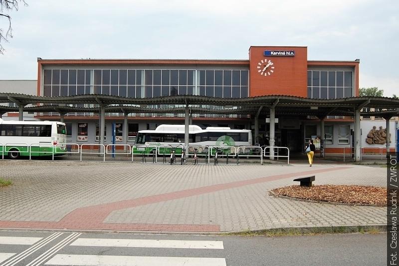 Dworzec główny w Karwinie stał się nowoczesną stacją kolejową
