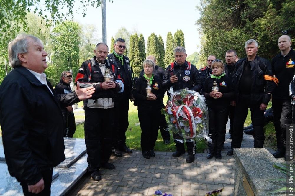 Motocykliści z całej Polski zwiedzali Śląsk Cieszyński i Zaolzie