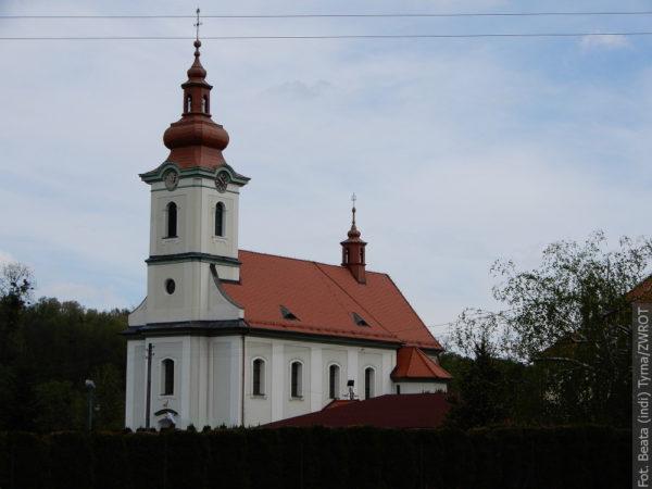 Spacery ze Zwrotem: Kościół Wniebowstąpienia Najświętszej Maryi Panny w Zebrzydowicach