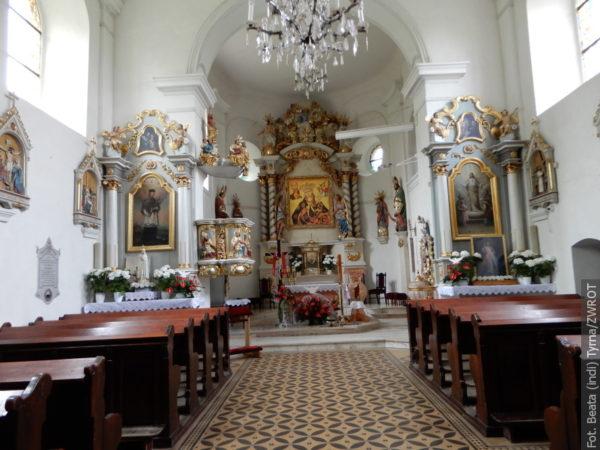 """Spacery ze """"Zwrotem"""": Kościół pw. Narodzenia Najświętszej Maryi Panny w Kończycach Małych"""