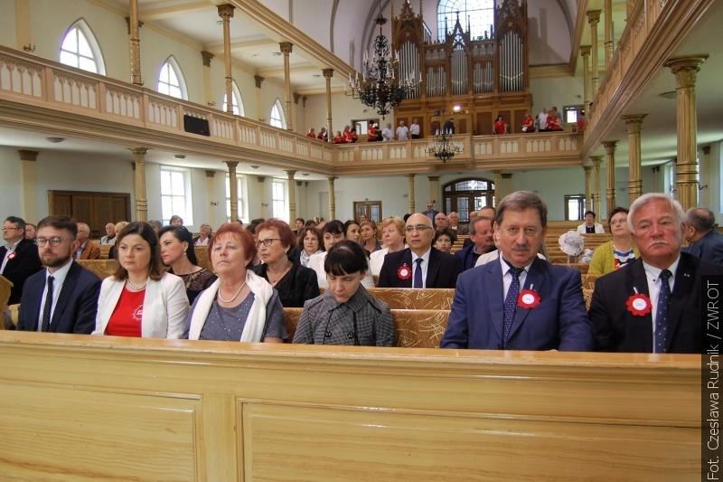 O domu, dobru, pięknie i dziedzictwie duchowym mówiono podczas nabożeństwa przed Festiwalem PZKO