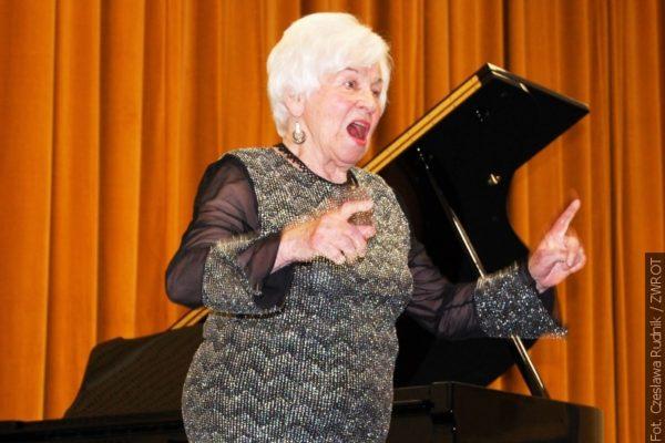 Pianistka występuje już siedemdziesiąt pięć lat