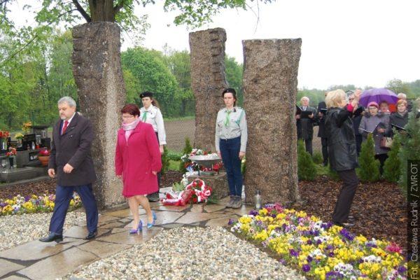 W Skrzeczoniu oddano cześć ofiarom Polenlagru