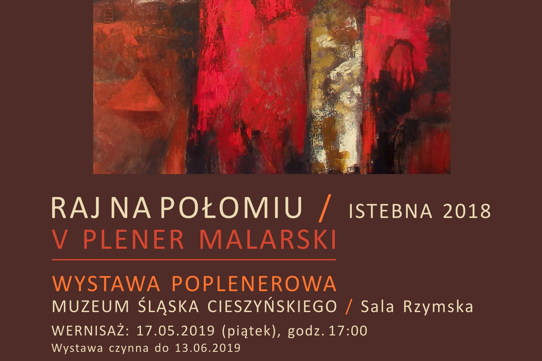 Istebna utrwalona na płótnie w Muzeum Śląska Cieszyńskiego