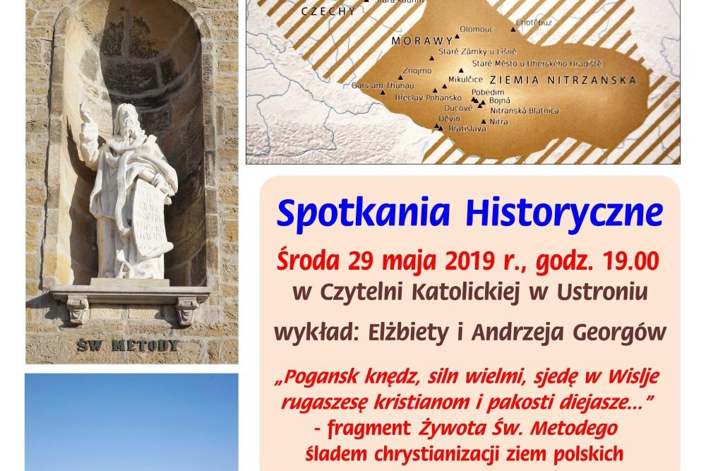 W Ustroniu wysłuchać będzie można wykładu o chrystianizacji Śląska Cieszyńskiego w czasach św. Cyryla