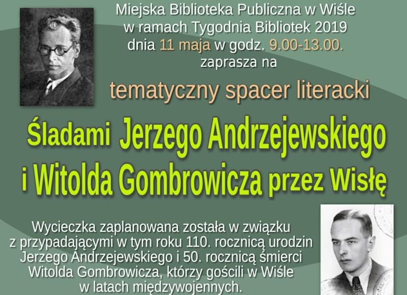 Można zwiedzić Wisłę śladami znaczących pisarzy polskich